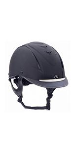 Amazon Com Ovation Kid S Metallic Schooler Riding Helmet Sports Outdoors