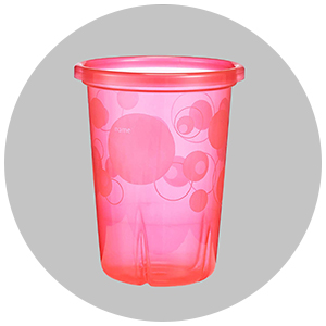 Pink sippy cup