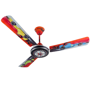 Buy Havells Moto Race Ceiling Fan For Kids Room 48 Inch 1200 Mm Red Online At Low Prices In India Amazon In