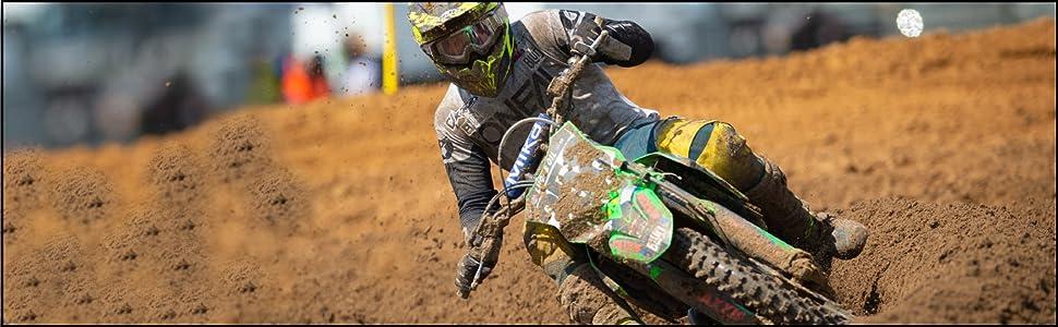 motocross, racing; supercross; dirt biking, off road; riding gear; Elbow support