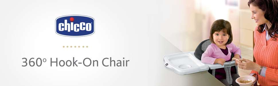 Chicco 360 Rotating Hook-On Booster Chair in Avena