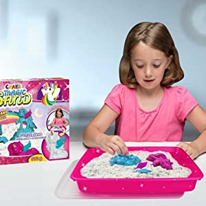 Children's kneading sand craze magic sand innovative creative colourful children girls boys.