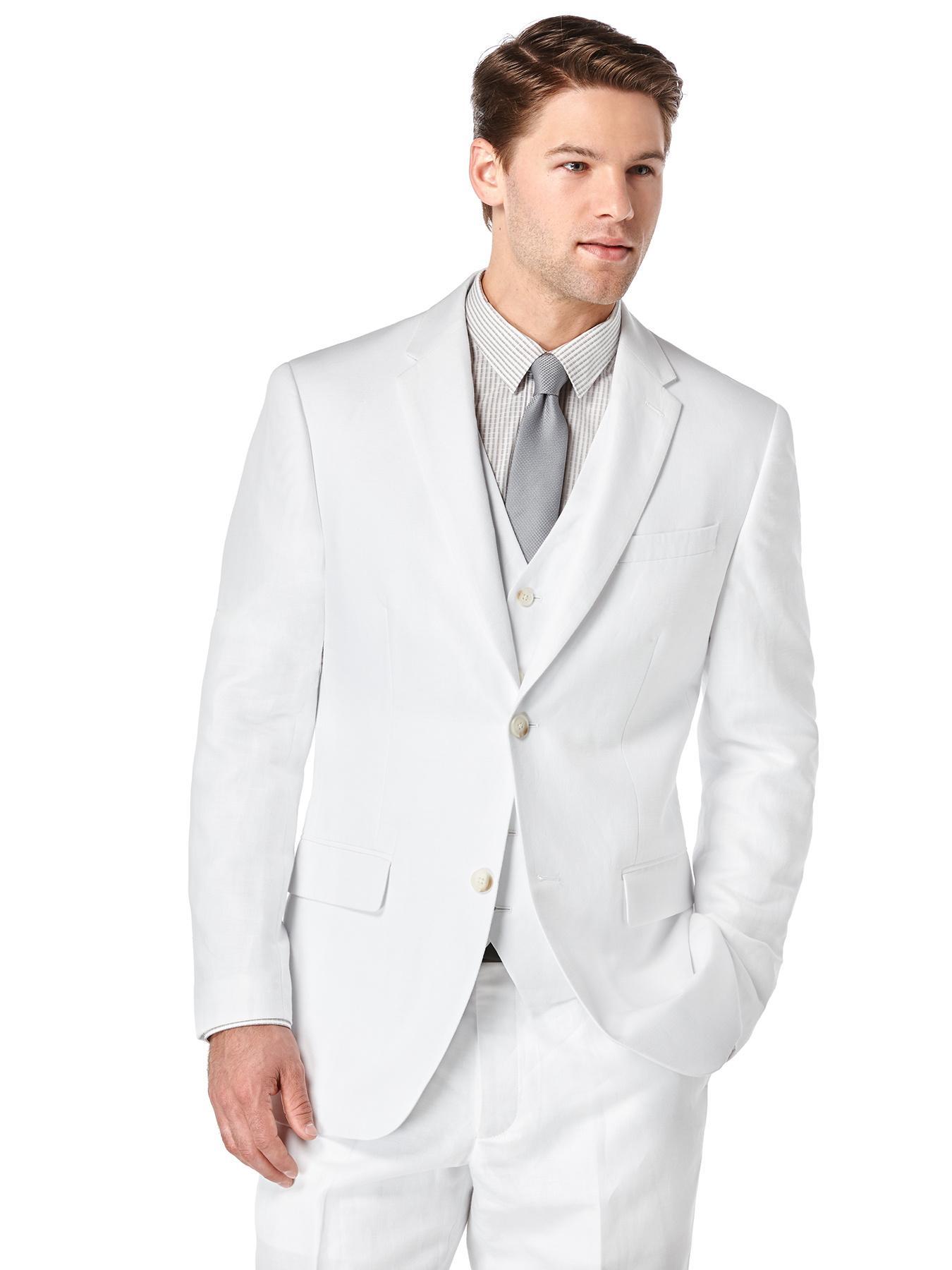 Perry Ellis Men 39 S Linen Suit Jacket At Amazon Men S