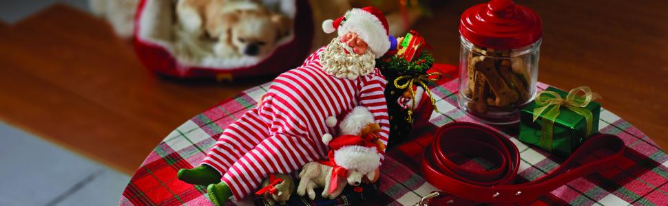 Possible Dreams Santa and his Pets Long Image