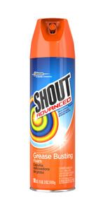 Shout Advanced Grease Busting Foam