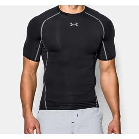 Under Armour Heat Gear T-Shirt manches courtes Homme  Under Armour ... bc2816cccf8d