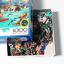 less jigsaw puzzle dust