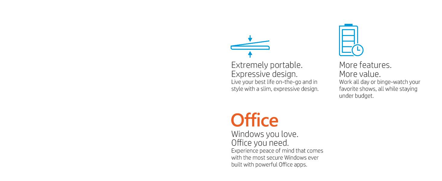 mobile portable light thin color budget Windows secure value