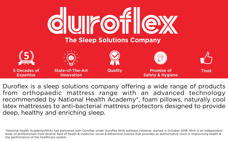 Duroflex Energise Evoke 8-inch Queen Size Spring Mattress (White, 78x60x8) SPN-FOR1P