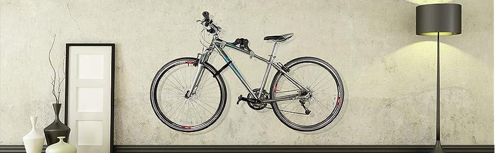 Raleigh Single Bike Horizontal Wall Rack Cosmecol