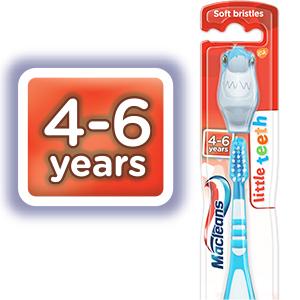 Macleans 4-6 toothbrush
