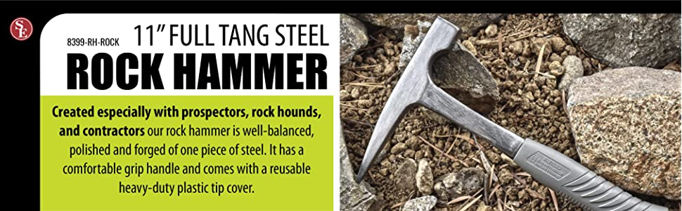 SE 8399-RH-ROCK 20 oz  Rock Pick Hammer