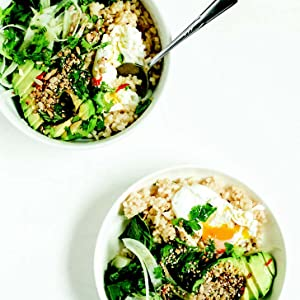 california bowl salad avocado egg lunch easy