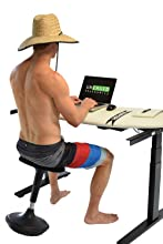wobble stool active sitting sit stand standing desk perch balance chair stool