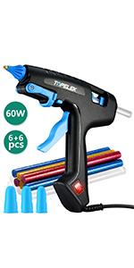 TOPELEK 60W Full Size Glue Gun