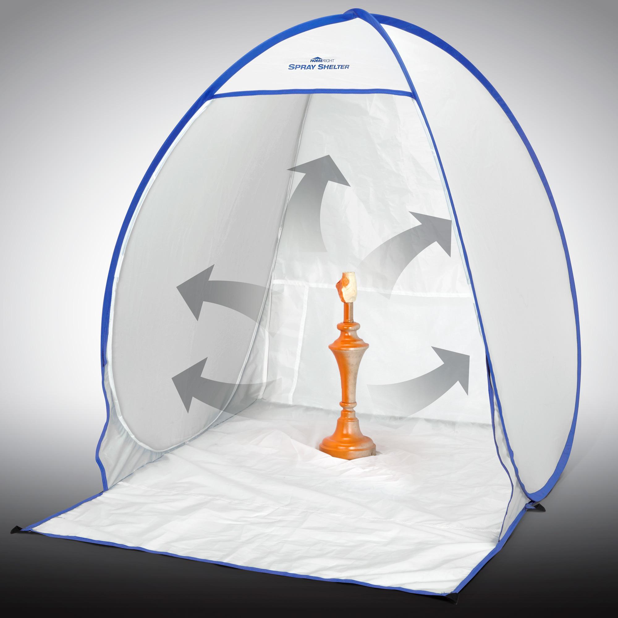 Spray Painting A Nylon Tent