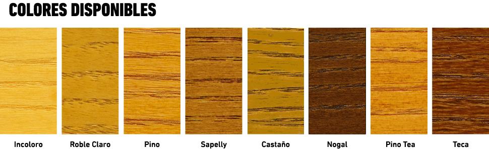 Xyladecor Protector para madera Satinado Roble Claro 750 ml