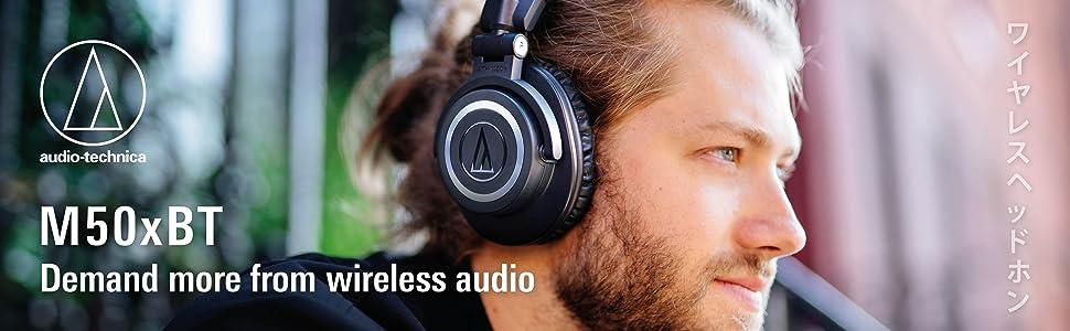 M50xBT Wireless Headphones