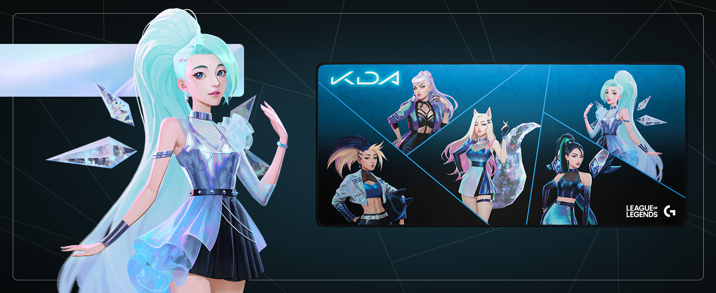 K/DA G840 Gaming Mouse Pad