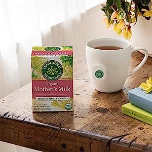 Traditional Medicinals Organic Healthy Cycle Raspberry Women's Tea