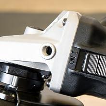 Grinder trigger and handle mount