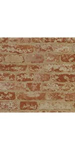 ... brick wallpaper, sure strip wallpaper, removable wallpaper ...