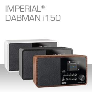 Imperial Dabman I150 Radiorekorder Mp3 Audio Hifi