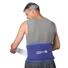 back pain, back pain relief, sports therapy, cold pack