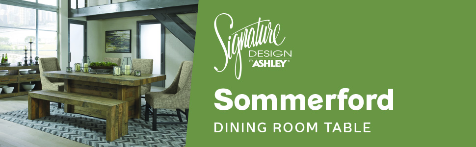 d775 sommerford dining room collection signature design by ashley furniture