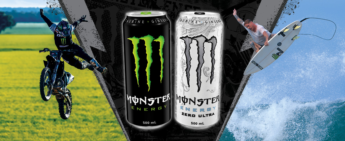 Monster Original and Ultra