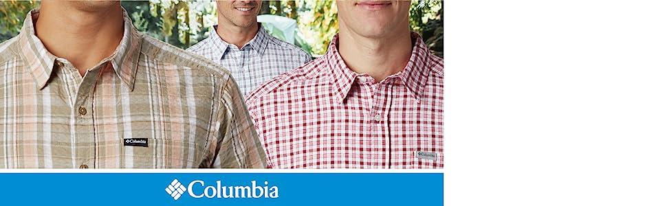 Columbia Men's Brentyn Trail Short Sleeve Seersucker Shirt