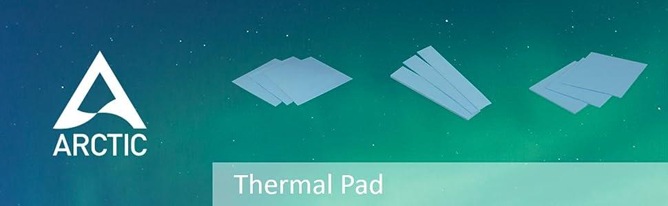 Arctic Thermal Pad 2er Pack Exzellente Wärmeleitung Computer Zubehör