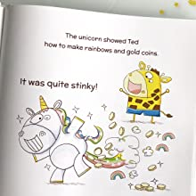 Unicorn fart - I Turned My Mom Into A Unicorn: A Funny Thankful Story (Ted And Friends)
