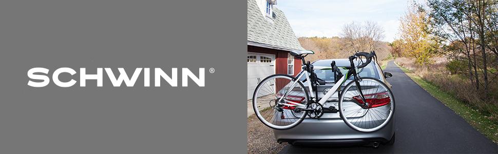 Schwinn 2-Bike Trunk Rack, Where do you want to go next?