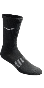 Black Crew Socks