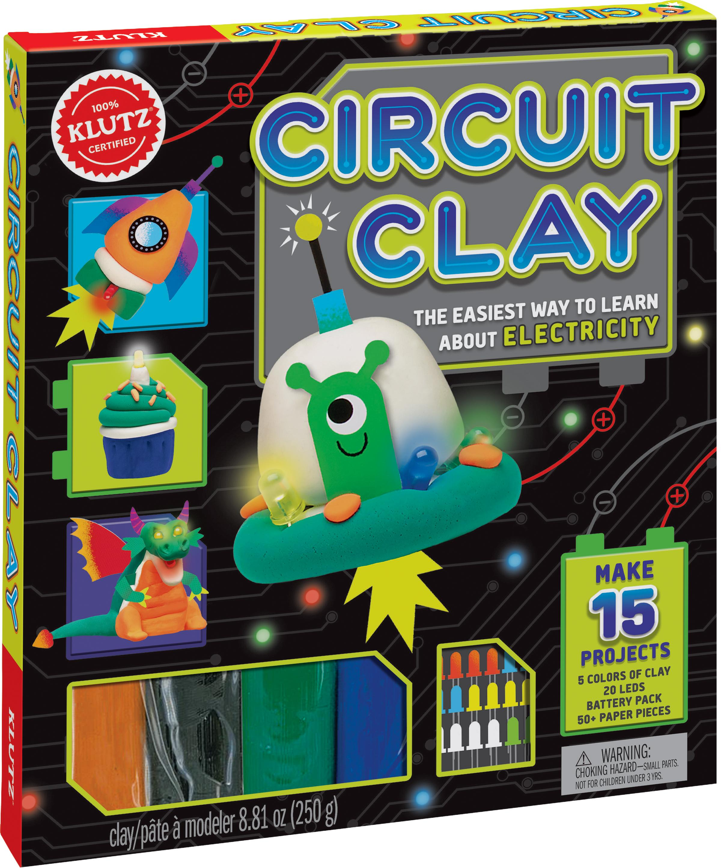 Klutz Circuit Clay Science Kit Editors Of Toys How Do You Make A View Larger