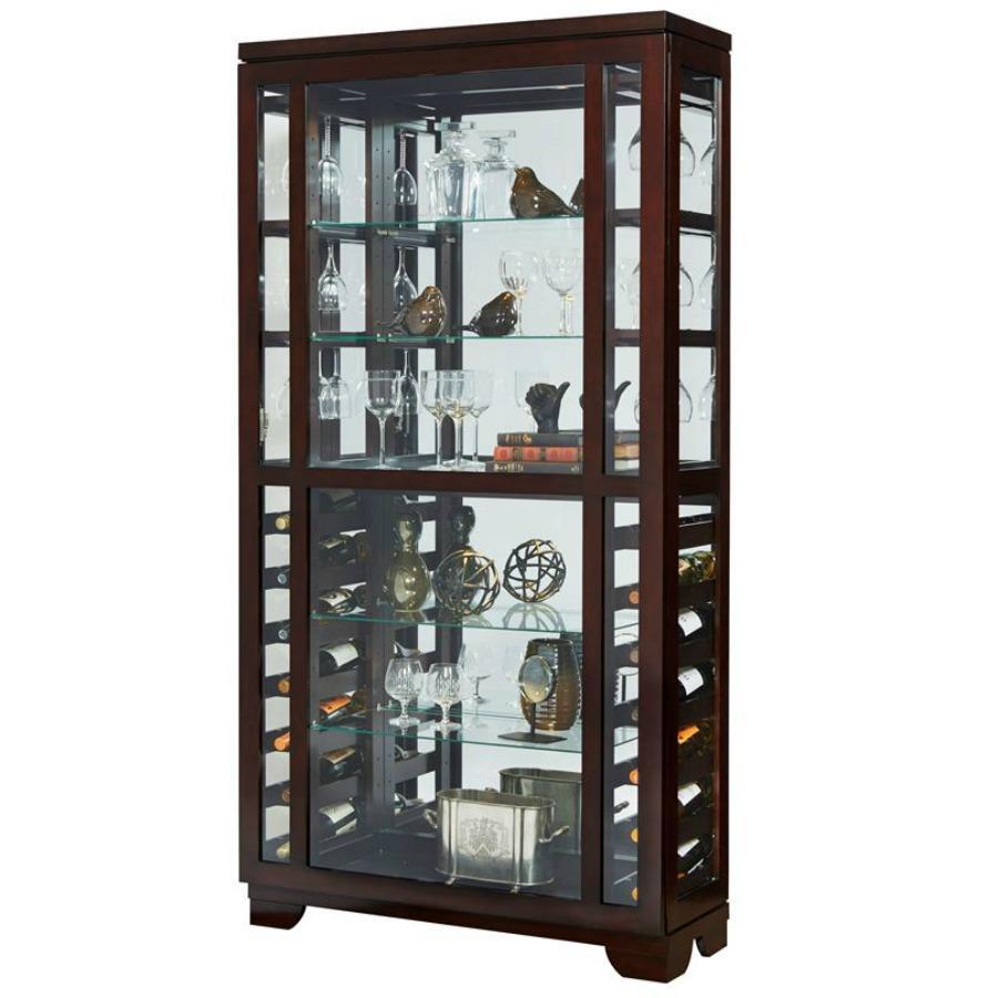 Curio,Wine Curio,Mirrored Curio,Side Entry Curio,Sliding Door Curio,