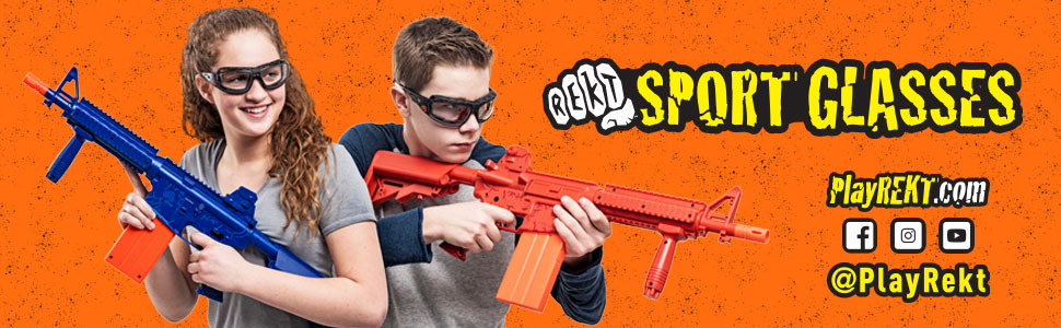 REKT, Elite Force, Umarex, UX, Dart gun, foam dart, shooting goggles, nerf, CO2, dart pistol, darts