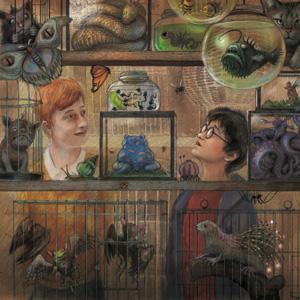 Harry Potter, Prisoner of Azkaban, Ron Weasley