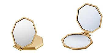 10倍拡大鏡コンパクト八角ミラー