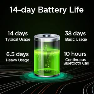 Ultra-Long Battery Life Smartwatch
