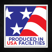 Produced in USA facilities