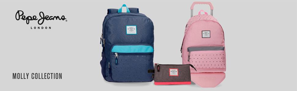 Bolsa de viaje Pepe Jeans Molly azul