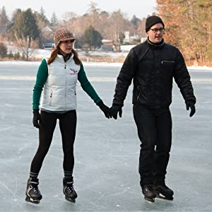 Ice skating is healthy, ice skating is a good workout