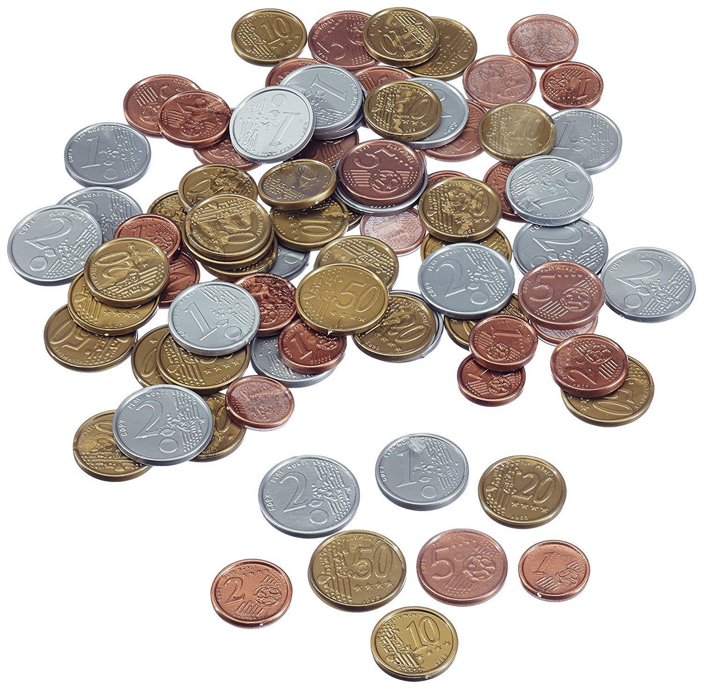 Noris Spiele 606521012 Euro Spielgeld Münzen Amazonde Spielzeug