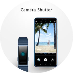 smart watch a remote phone camera shutter