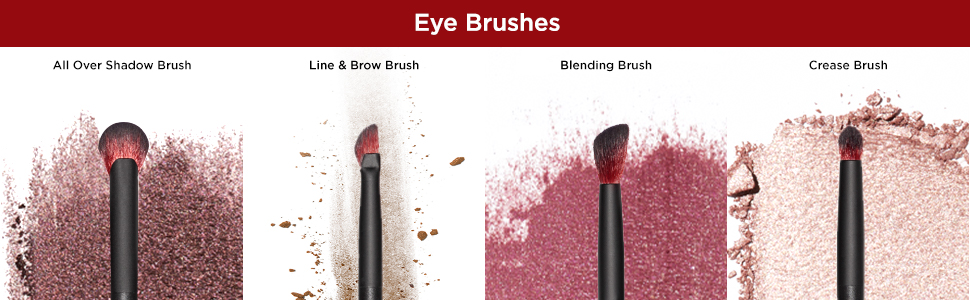 Revlon Cosmetic Brushes with Antibacterial Treatment