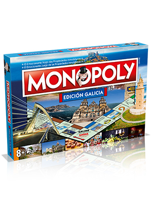 Winning Moves Monopoly Galicia (10223), multicolor, 40 x 27 cm ...