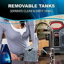water tanks, clean water