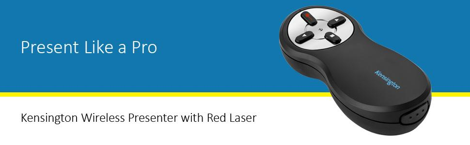 Amazon.com : Kensington Wireless Presenter with Red Laser